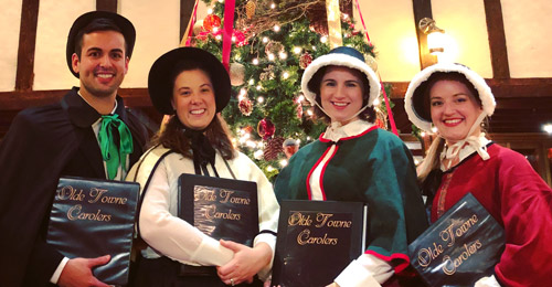Boston carolers for hire